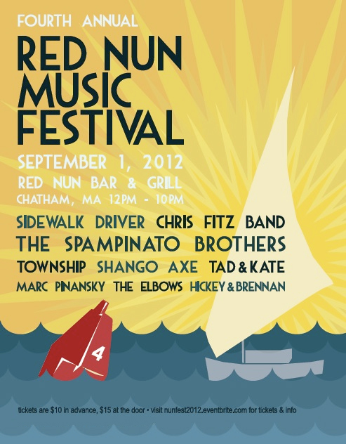 Red Nun Festival Flyer